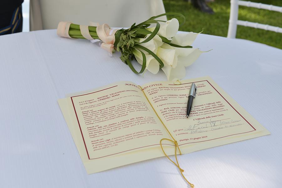 dichiarazione amore matrimonio