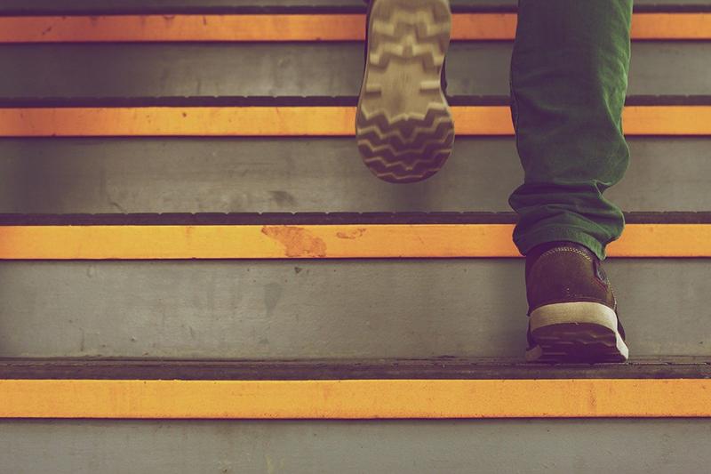 passo sulle scale