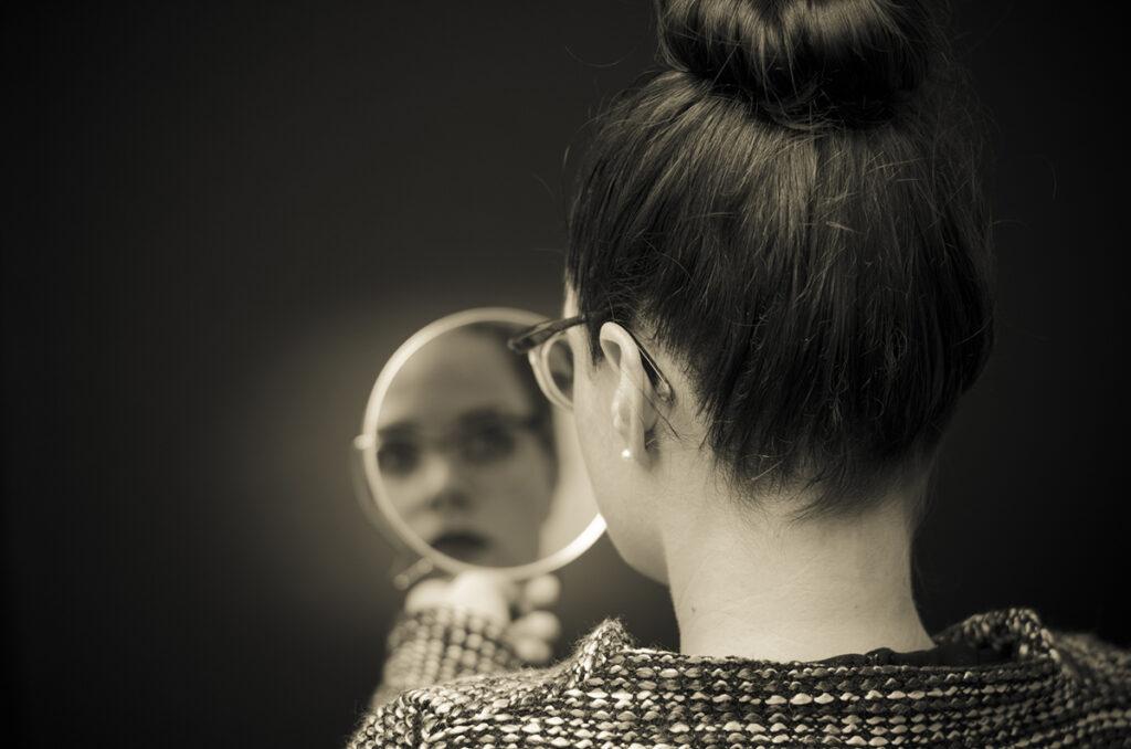 parlare allo specchio