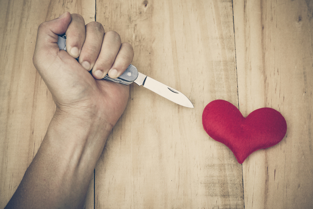 coltello cuore
